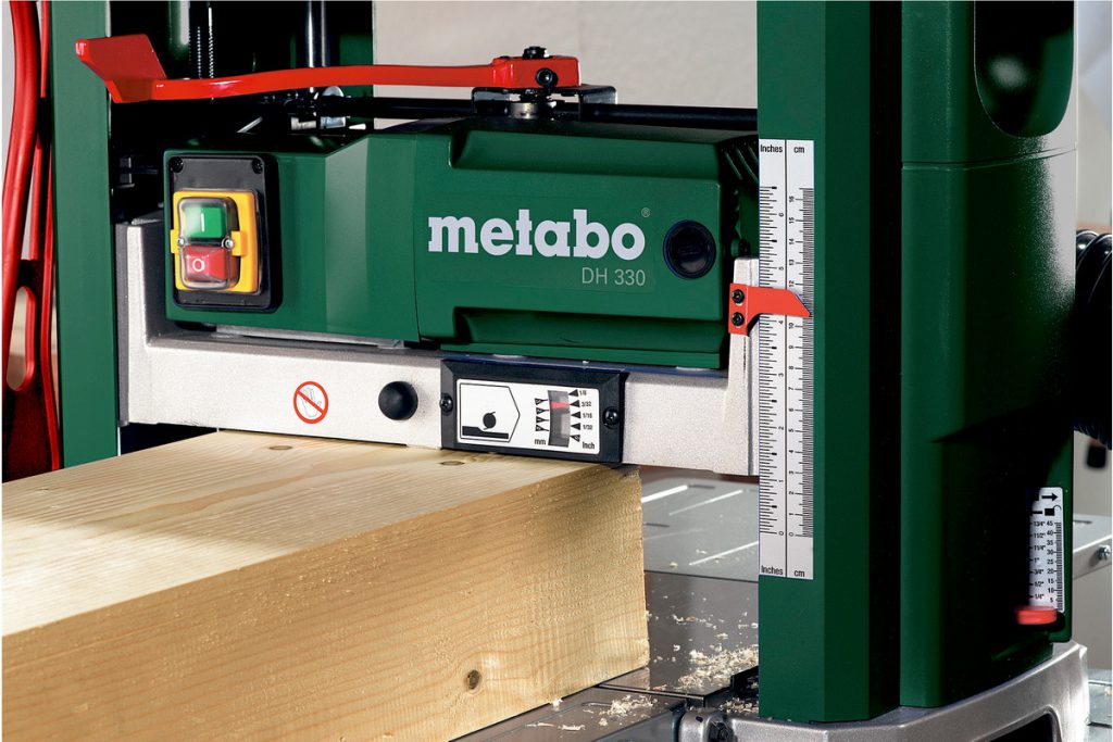 Raboteuse Metabo Rabot Épaisseur 330 DH points forts